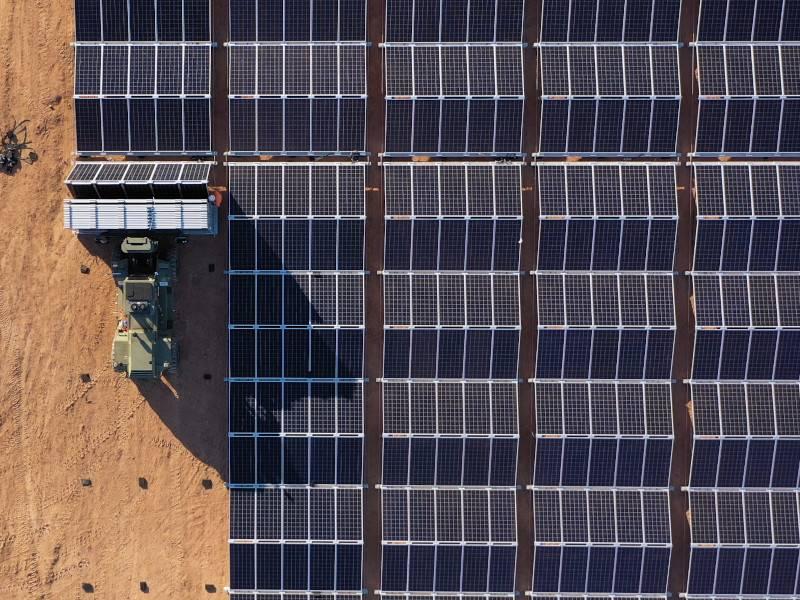 ausztrál napelempark